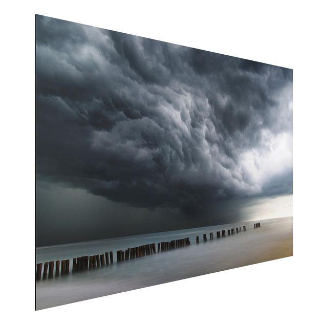Aluminium Print - Sturmwolken über der Ostsee - Querformat 2:3