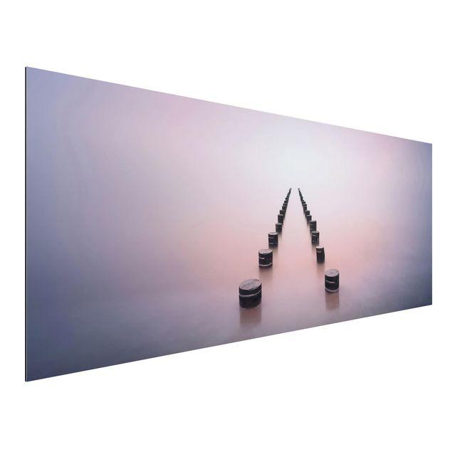 Aluminium Print - Zen am Strand - Panorama