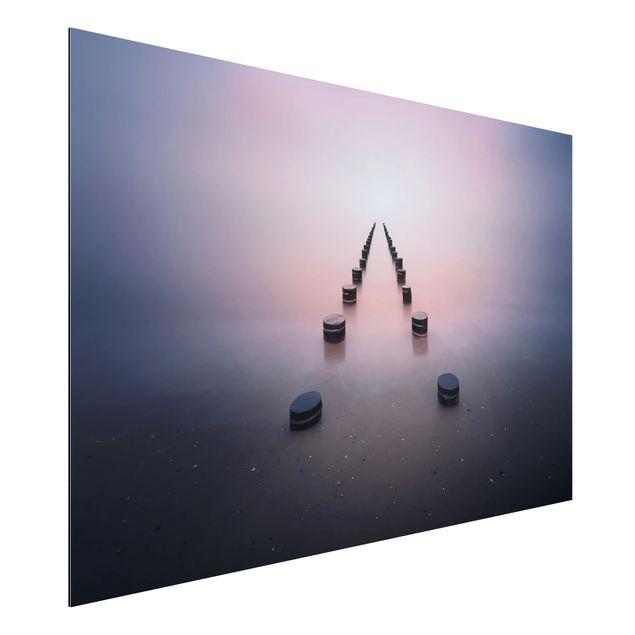 Aluminium Print - Zen am Strand - Querformat 2:3
