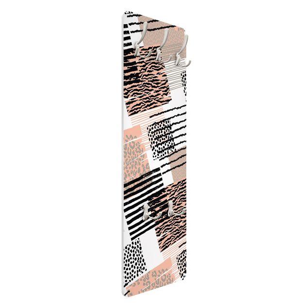Garderobe - Animalprint Zebra Tiger Leopard Australien
