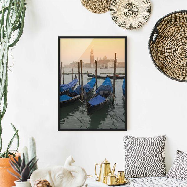 Bild mit Rahmen - Venice Dreams - Hochformat 3:4