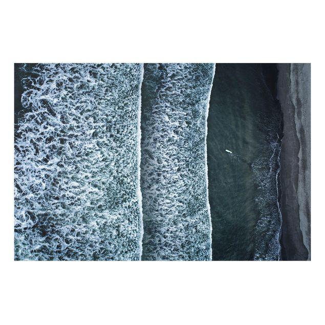 Forex Fine Art Print - Luftbild - Der Herausforderer - Querformat 2:3