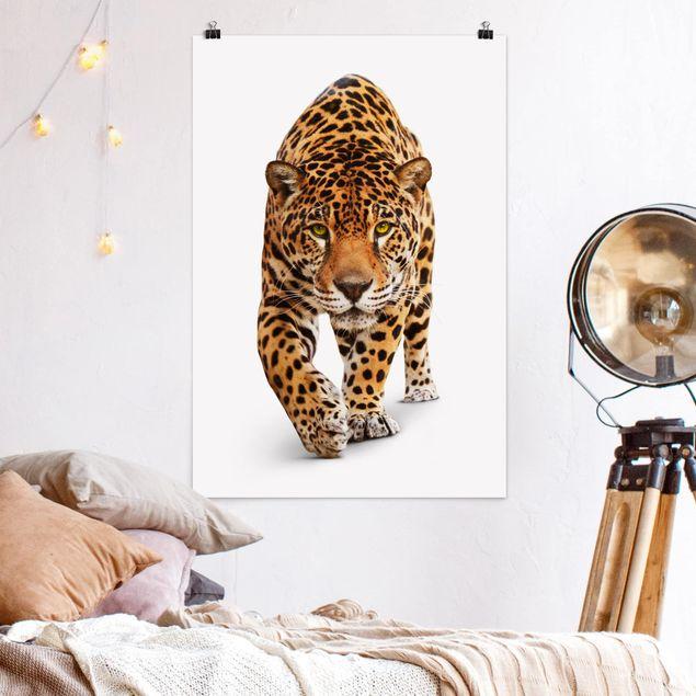 Poster - Creeping Jaguar - Hochformat 3:2