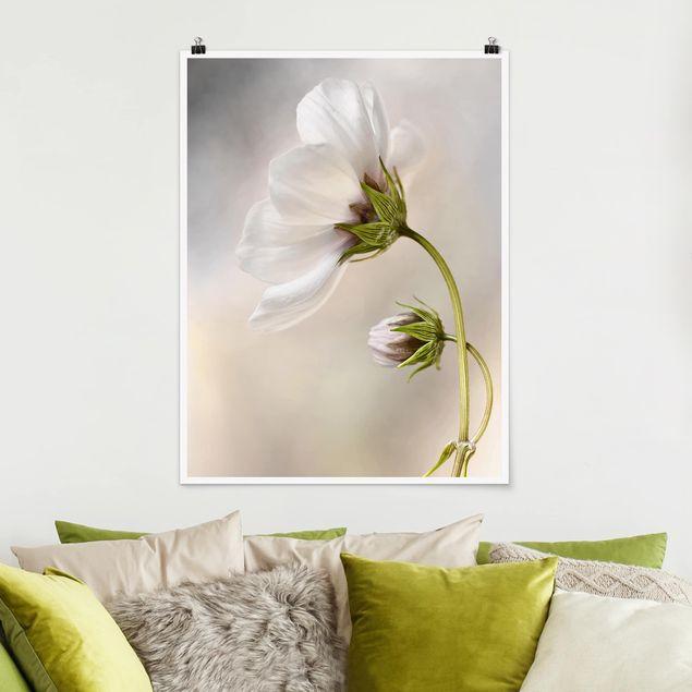 Poster - Himmlischer Blütentraum - Hochformat 3:4
