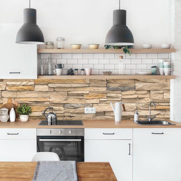 Küchenrückwand - Andalusia Stonewall