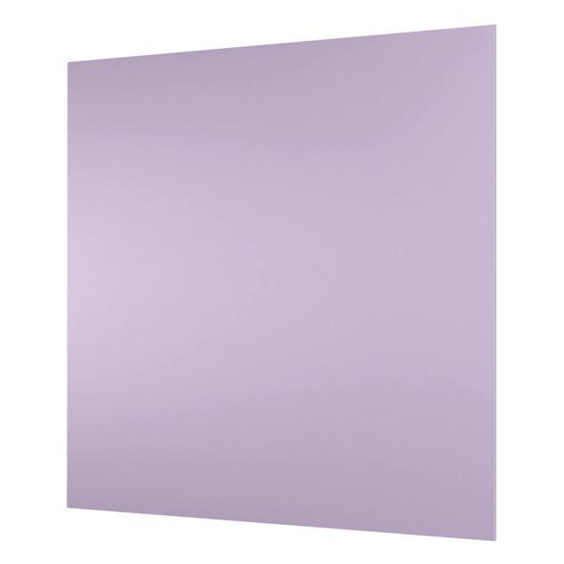 Glas Spritzschutz - Lavendel - Quadrat - 1:1