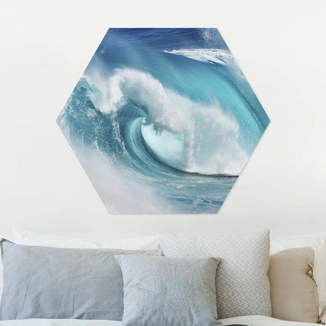 Hexagon Bild Forex - Tosende Wellen