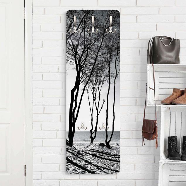 Garderobe - Bäume an der Ostsee