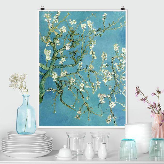 Poster - Vincent van Gogh - Mandelblüte - Hochformat 3:4