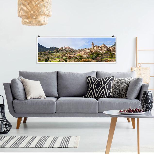Poster - Rural Valldemossa - Panorama Querformat
