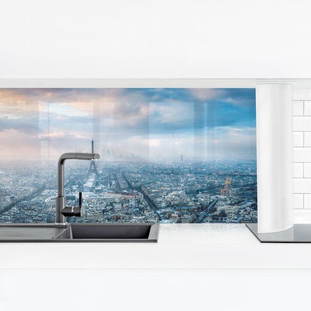Küchenrückwand - Winter in Paris