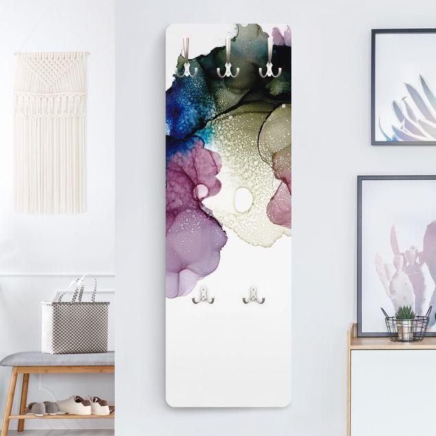 Garderobe - Blumenbogen mit Gold