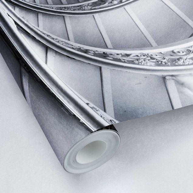 Metallic Tapete - Bramante Treppe