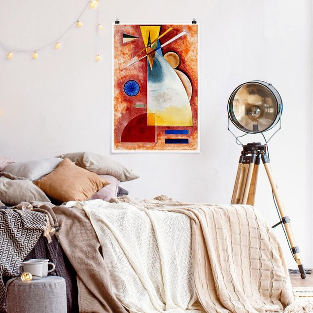 Poster - Wassily Kandinsky - Ineinander - Hochformat 3:2