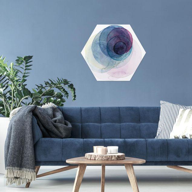 Hexagon Bild Forex - Urknall - lila