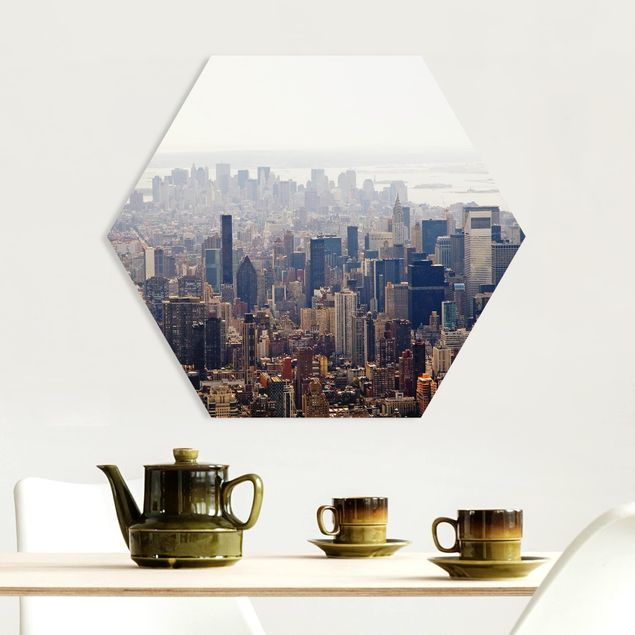 Hexagon Bild Forex - Der Morgen in New York