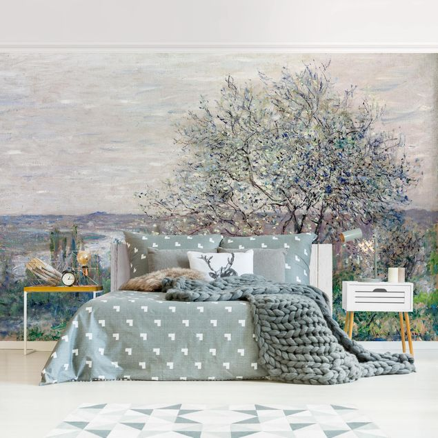 Fototapete - Claude Monet - Frühlingsstimmung