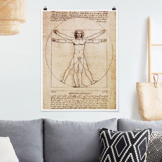 Poster - Da Vinci - Hochformat 3:4