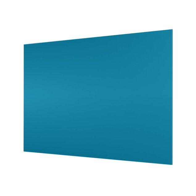 Glas Spritzschutz - Petrol - Querformat - 4:3