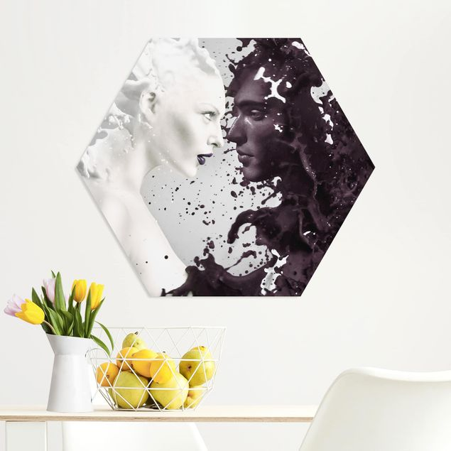 Hexagon Bild Forex - Milk & Coffee