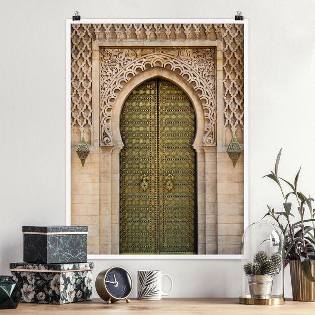 Poster - Oriental Gate - Hochformat 3:4