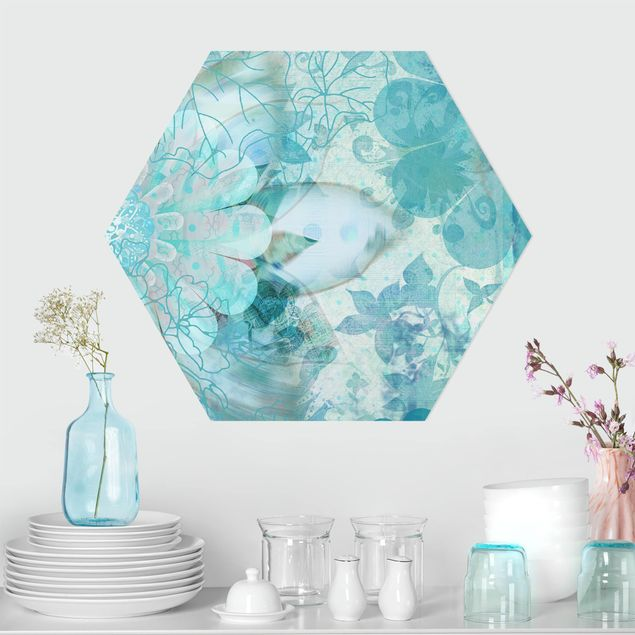 Hexagon Bild Forex - Winterblumen