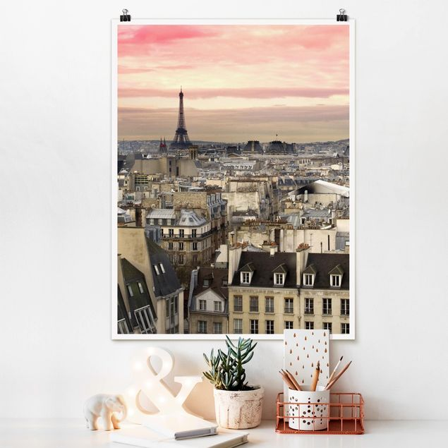 Poster - Paris hautnah - Hochformat 3:4