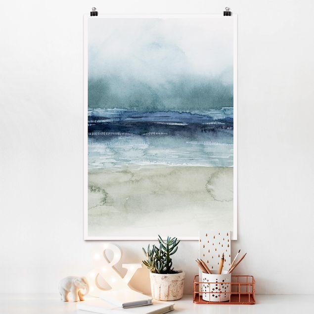 Poster - Mariner Nebel I - Hochformat 3:2