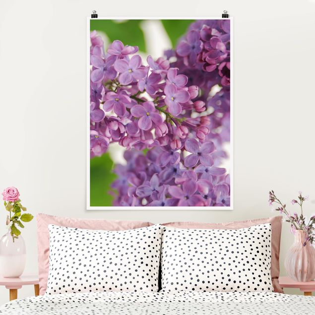 Poster - Lovely Lilac - Hochformat 3:4