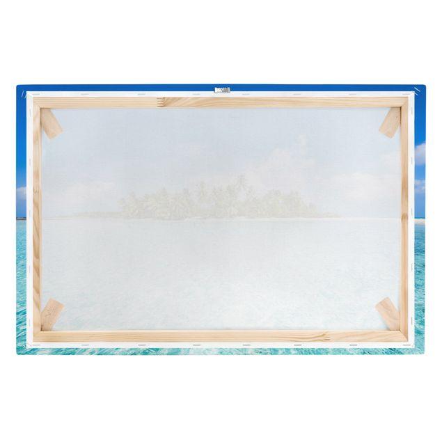 Leinwandbild - Crystal Clear Water - Querformat 3:2