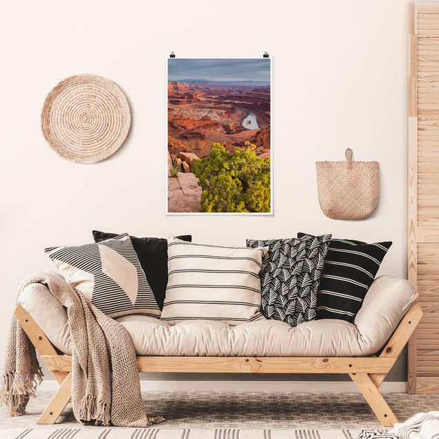 Poster - Dead Horse Point Canyonlands National Park USA - Hochformat 3:2