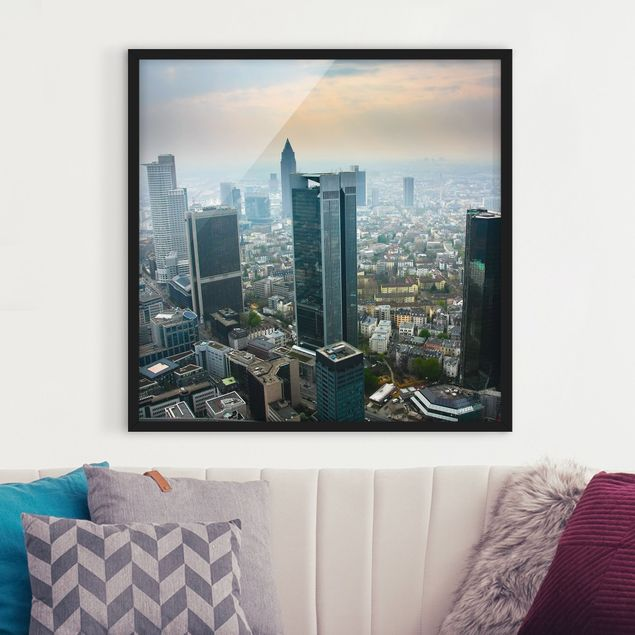 Bild mit Rahmen - Modern Architecture - Quadrat 1:1