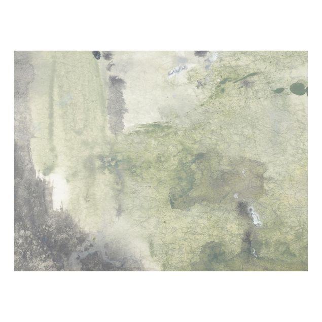 Glas Spritzschutz - Frieden, Liebe, Freude II - Querformat - 4:3