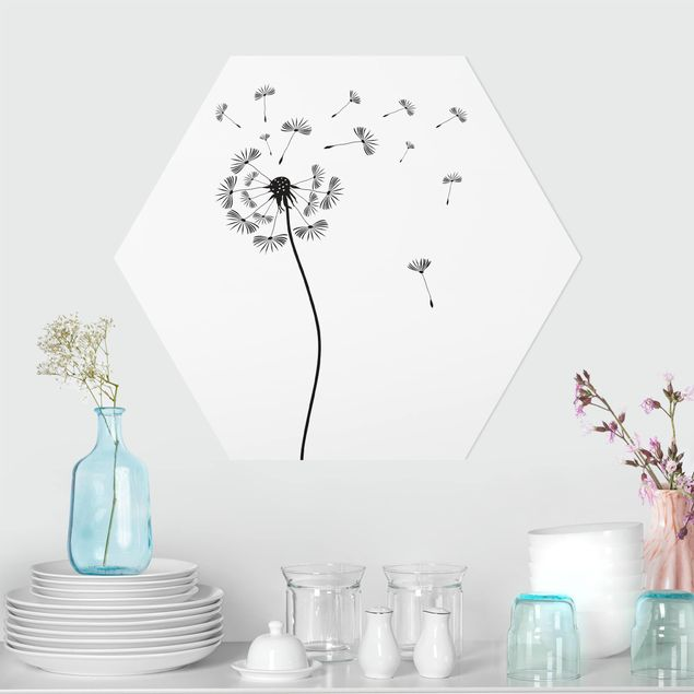 Hexagon Bild Forex - No.252 Pusteblume