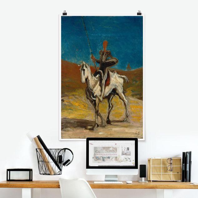 Poster - Honoré Daumier - Don Quixote - Hochformat 3:2
