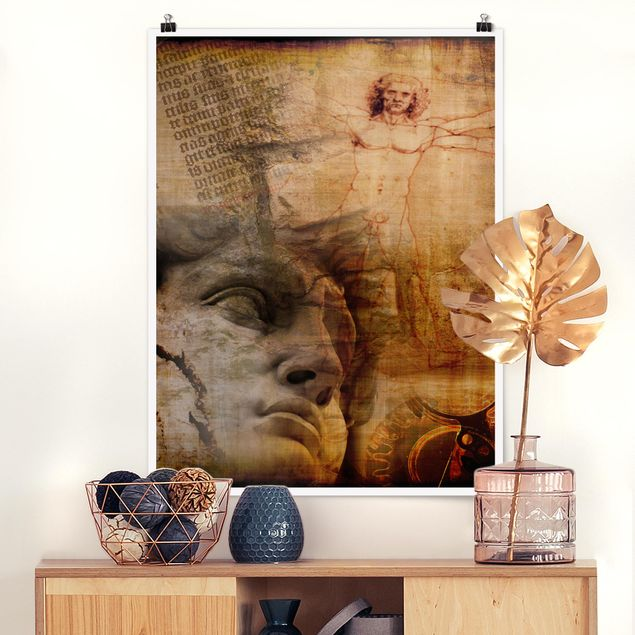 Poster - Mysteries of Italy - Hochformat 3:4