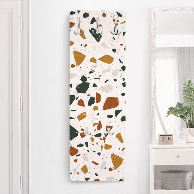 Garderobe - Detailliertes Terrazzo Muster Livorno