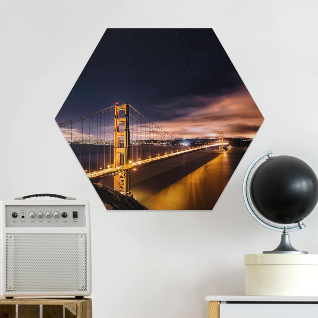 Hexagon Bild Forex - Golden Gate to Stars