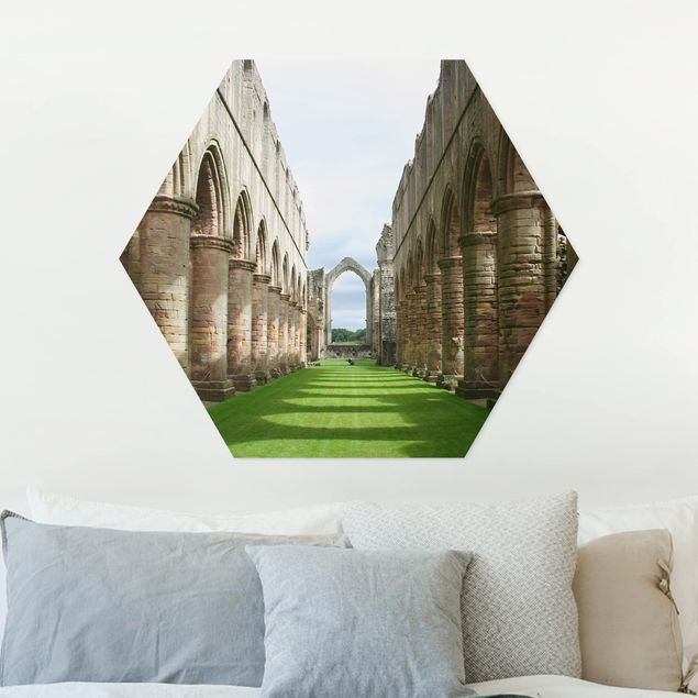 Hexagon Bild Forex - Fountains Abbey