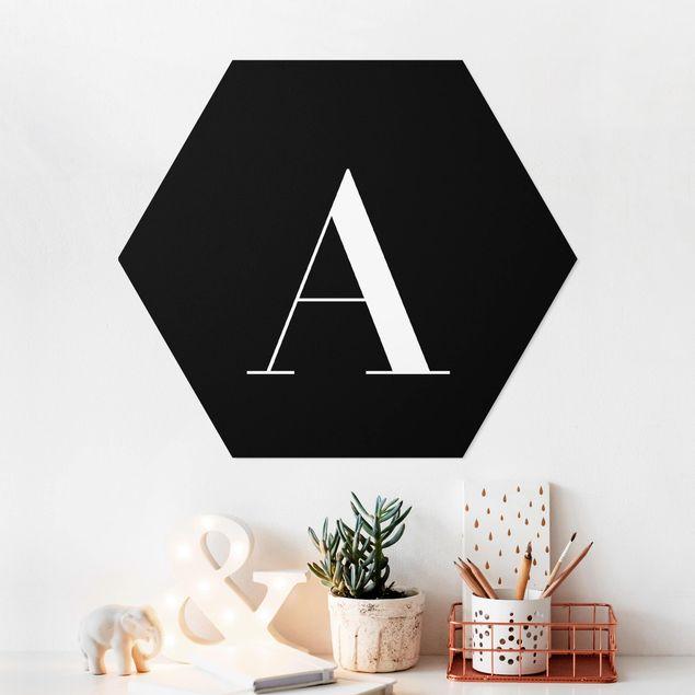 Hexagon Bild Forex - Buchstabe Serif Schwarz A