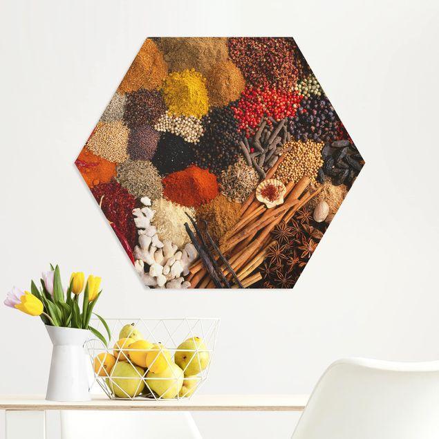 Hexagon Bild Forex - Exotische Gewürze