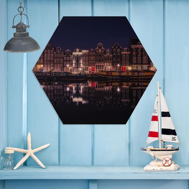 Hexagon Bild Forex - Hausboote in Amsterdam