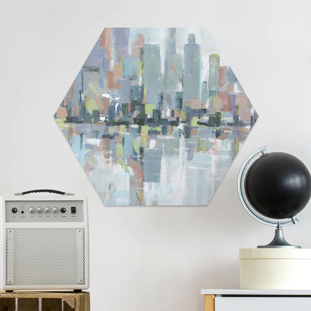 Hexagon Bild Forex - Metro City I