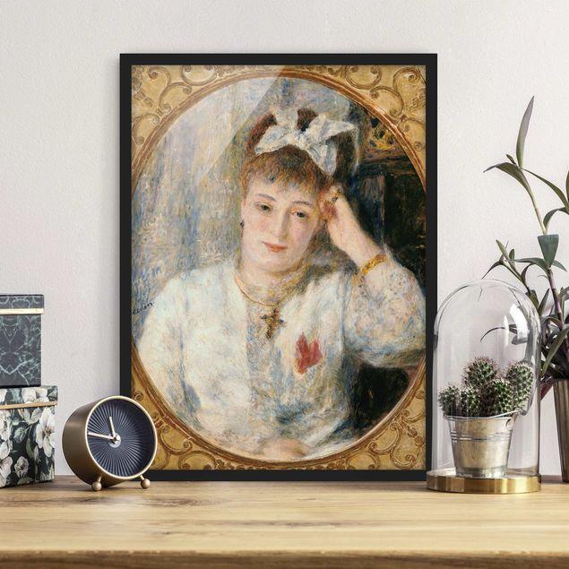 Bild mit Rahmen - Auguste Renoir - Marie Murer - Hochformat 3:4