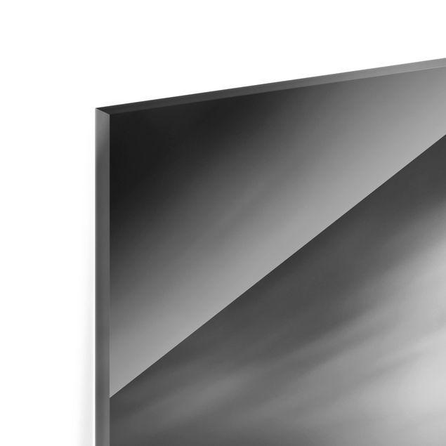Glas Spritzschutz - Der alte Pier - Quadrat - 1:1