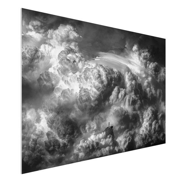 Forex Fine Art Print - Ein Sturm zieht auf - Querformat 2:3