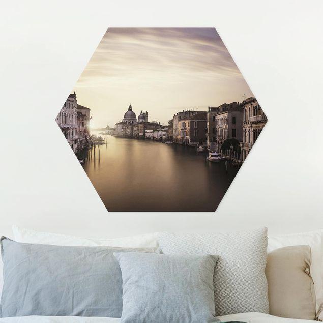 Hexagon Bild Forex - Abendstimmung in Venedig
