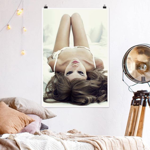 Poster - Come to Bed, Babe - Hochformat 3:2
