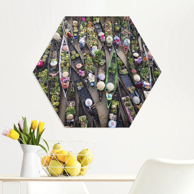 Hexagon Bild Forex - Schwimmender Markt