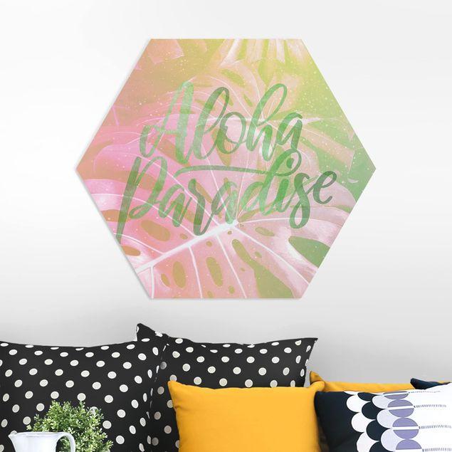 Hexagon Bild Forex - Rainbow - Aloha Paradise